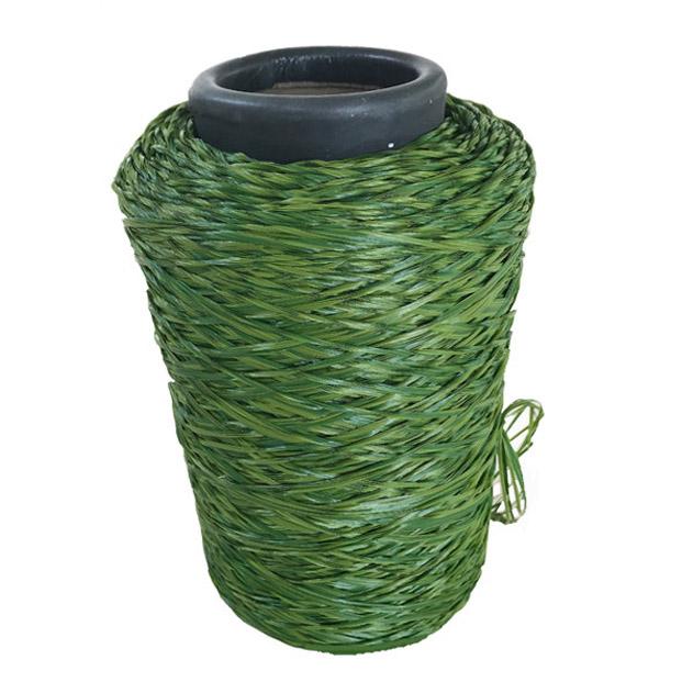 绿色合成人造草丝